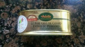 My favorite foie gras, purchased in the village of Domme.