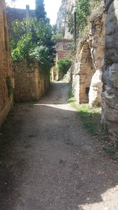 Yes. In all seriousness. The old Roman road leading to town. Built along the cliffs.