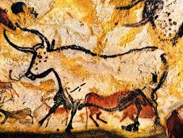Prehistoric cave paintings, Lascaux.