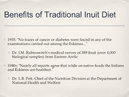 Eskimo diet